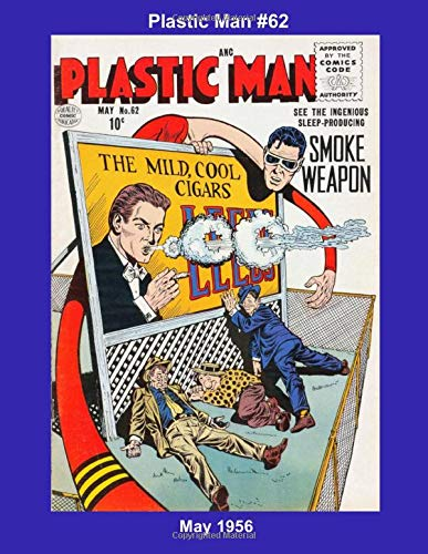 Plastic Man #62 -- May 1956 (Golden Age Reprints by StarSpan)
