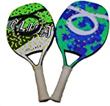 Tom Caruso Outride Coppia Racchette Beach Tennis Racket Holiday Arctic Insider Tropic (Holiday Arctic)...