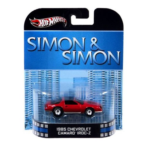 Hot Wheels Retro Simon & Simon 1:55 Die Cast Car 1985 Chevrolet Camaro IROC-Z