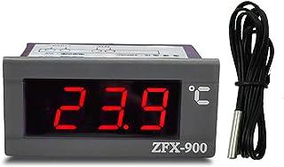 ZFX-900 inbyggd temperaturmätare Intelligent digital temperaturdisplaypanel för kylskåp Frysfrys kall garderob