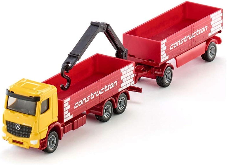 Lingling Proportionaler Modell-LKW mit Technik-Anhnger-Legierung (Farbe   rot)