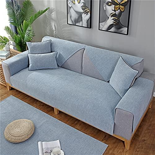 El cojín del sofá es suave al tacto, transpirable y resistente al desgaste, universal en todas las estaciones, los cojines de sofá antideslizantes se utilizan para los reposabrazos, respaldos y tabure