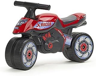FALK - Moto draisienne X Racer - Dès 12 mois - Fabriqué en France - Roues extra larges - Développe l'équilibre et la motri...