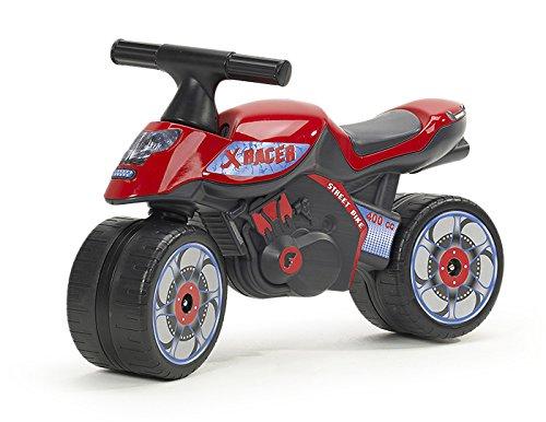 FALK - Moto draisienne X Racer - Dès 12 mois - Fabriqué en France - Roues extra larges - Développe l'équilibre et la motricité - 400