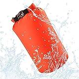 Jancerkmou Bolsa Seca Impermeable portátil de Nailon 8L para canotaje, Kayak, Pesca, Rafting, natación, Camping, Rafting, Snowboard 5