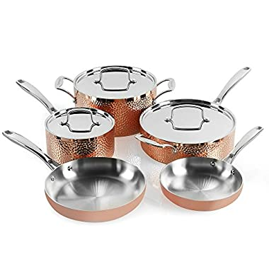 Cuisinart  HCTP-8W Hammered Copper Set (8-Piece)
