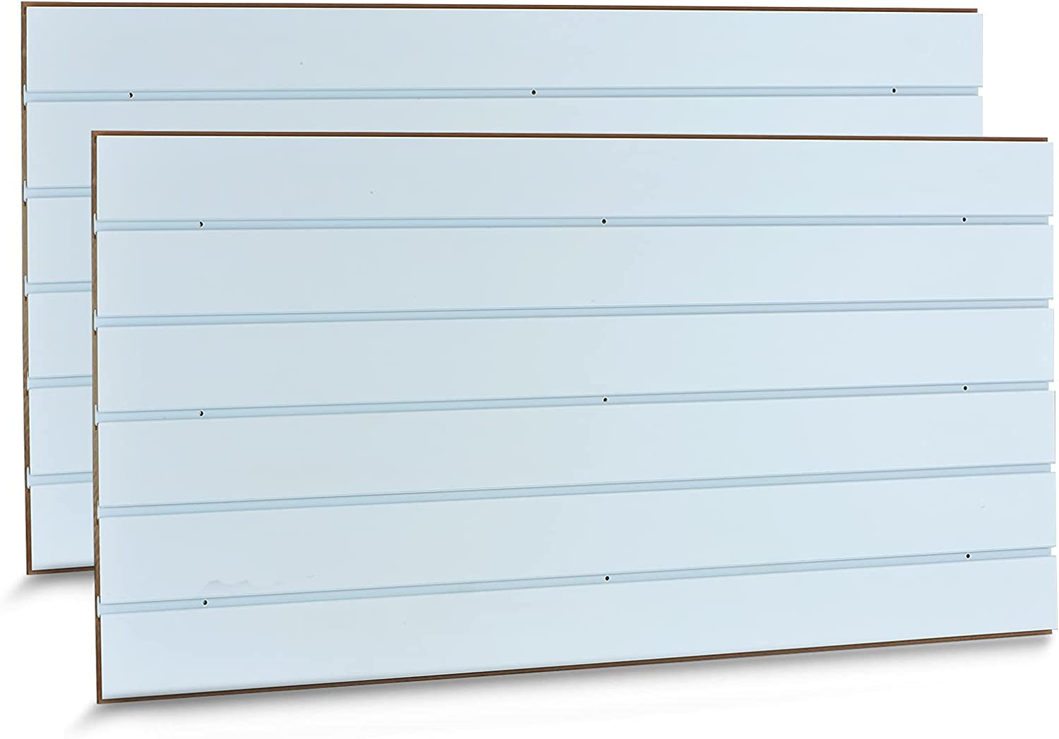 APL Display 4' Regular discount x 2' Slatwall Panels with High material Insert Removable Gloss