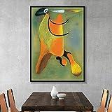 Peinture sans Cadre Abstrait Aquarelle Peinture Murale Art Affiche et Gravure célébrité Salon décoration de la Maison sur toileAY6375 40X50 cm