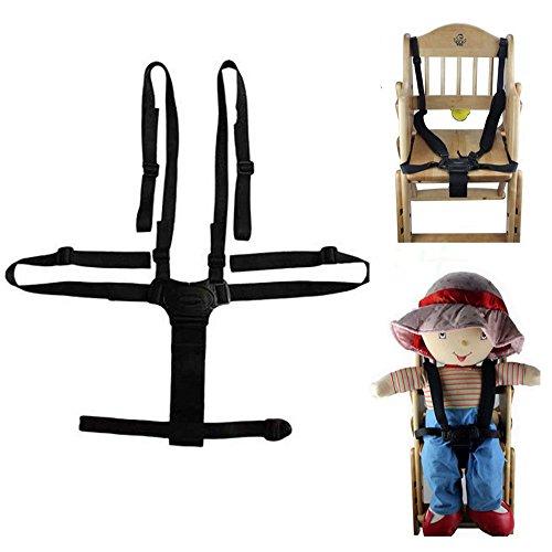 ベビー 椅子 ベルト 調整可能 チェアベルト 子供椅子 ベビーカー バギーシート安全な固定ベルト ストラップ...