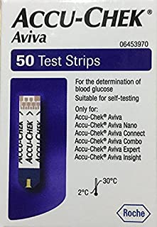 Accu-Check Aviva Test Strips 50 Ct