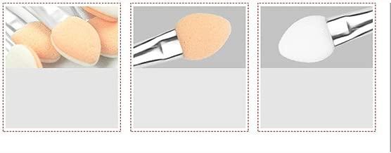 10 قطع ميك أب نهاية مزدوجة ظلال العيون محدد العين فرشاة إسفنج تطبيق أداة