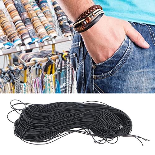 Gaeirt Cadena de Etiquetas, Cuerda elástica ampliamente Utilizada Que se Puede Restaurar fácilmente sin deformación La Longitud Total es de Aproximadamente 100 m para Las Cuerdas de Etiquetas