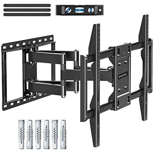 Amazon Brand – Eono Fernseher Wandhalterung Schwenkbar Neigbar, TV Halterung für die Viele 42-70 Zoll, einige bis zu 75 Zoll LED, LCD, OLED, Plasma TVs mit VESA 200x100-600x400mm bis zu 45,5kg
