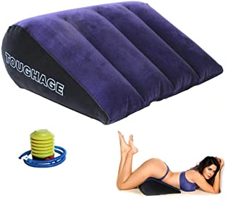 Dachma Sex Toys Wedge Pillow - Inflatable Sex Pillows Positioning for Deeper Penetration Body Position Cushion for Couples...