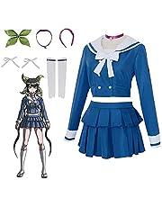LY Cosplay Kostuum, Danganronpa V3 Chabashira Tenko Cosplay volledige instellen Uniform Kostuum, Klassieke Japanse School Girls Sailor Dress
