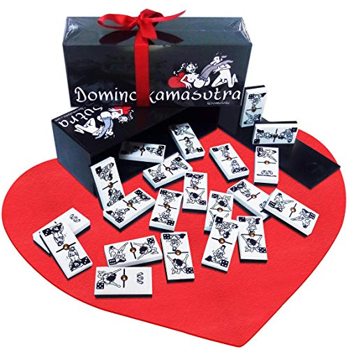 Domino juego Clásico Erótico Kama Sutra Posturas Eróticas Lovers fieltro tapete mesa