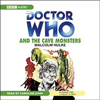 Doctor Who and the Cave Monsters cover art