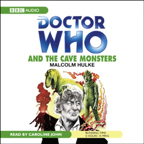 Doctor Who and the Cave Monsters audiobook cover art