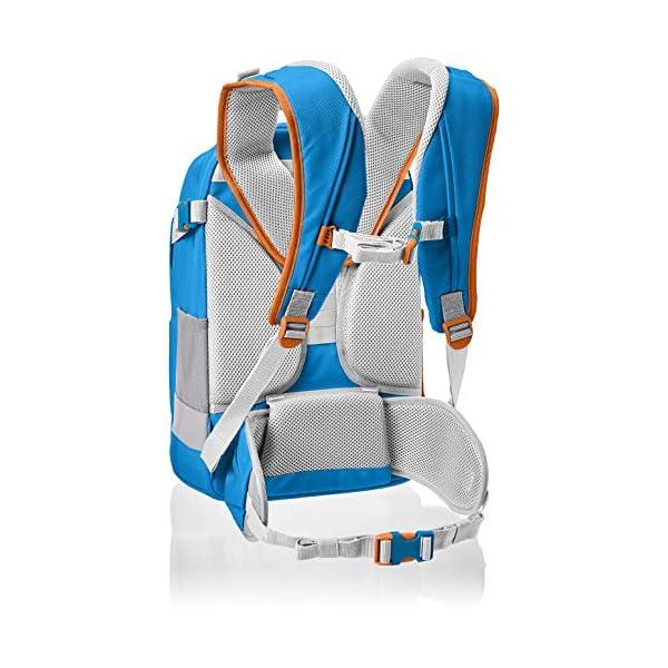 51C3pnbcH L. SS600  - AmazonBasics - Mochila ergonómica (azul, 30 litros)