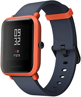 "Xiaomi Huami Amazfit Bip Smart Watch Reflection Color Screen 1.28"" Baro IP68 Waterproof GPS for Android & iOS English Version (Orange)"