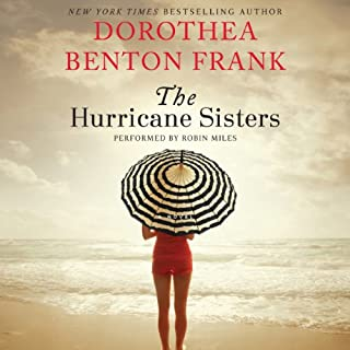 The Hurricane Sisters     A Novel              Written by:                                                                                                                                 Dorothea Benton Frank                               Narrated by:                                                                                                                                 Robin Miles                      Length: 10 hrs and 26 mins     Not rated yet     Overall 0.0