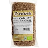 Biopanadería Pan de Molde Integral con Semillas Ecológico Elaborado con Masa Madre Natural (Khorasan Kamut con Sésamo)