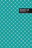 Student Lab Pocket Journal 6 x 9, 102 Sheets, Double Sided, Non Duplicate Quad Ruled Lines, (Royal Blue)