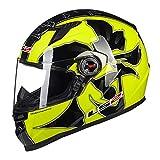 Männer Motorradhelme Outdoor Winddicht UV Schutz Anti Shock Nebel Motorrad Helm Motocross Racing Moto Caps in Allen Jahreszeiten