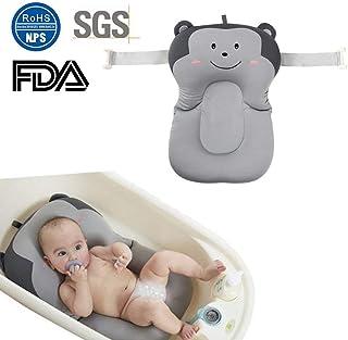 Säuglinge Baby Badewanne Polster Luftkissen Schwimmende Sitz Dusche Hilfe Matte