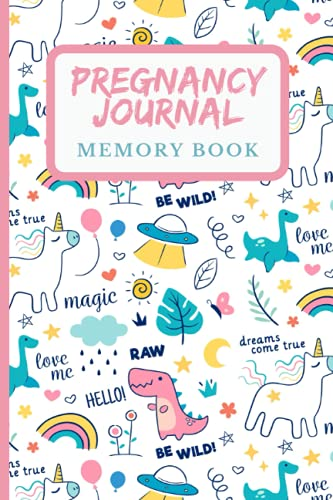 Pregnancy Journal Memory Book: Keepsake Pregnancy Journal and Memory Book for Mom and Baby Weekly Checklists, Activities, & Journal Prompts, (Great gift for pregnant mom)