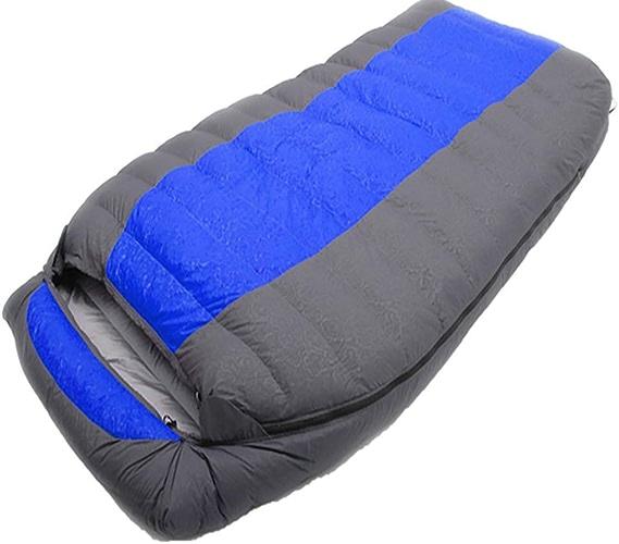 TAOZYY Sac De Couchage, Sac De Camping Adulte pour Camping en Plein Air, Double Sac De Couchage Rempli De Duvet De Canard Blanc