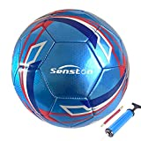 Senston Ballon de Football Taille 5 Match Officiel Football Adultes et Juniors Ballon de Football Ballon de Match de Futsal