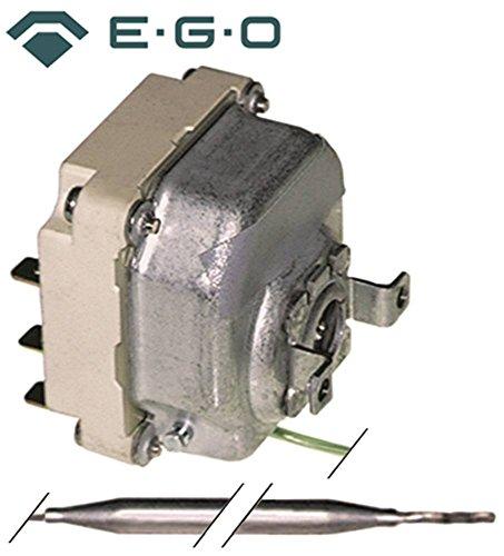 EGO 55.34311.020 Thermostat für Spülmaschine Palux 440078, 440086, 440094, 361763, 378933 max. Temperatur 90°C 2-polig 2CO CU
