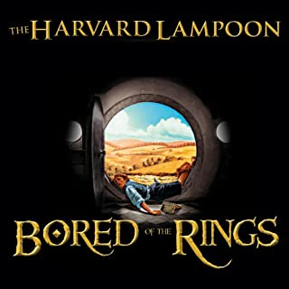 Bored of the Rings audiobook cover art
