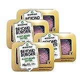 Beyond Meat Burger | Hamburguesa 100% Vegetal | Plant Based | Sin Gluten | Sin Soja | Vegano | 2 porciones (227g) (Pack de 4)