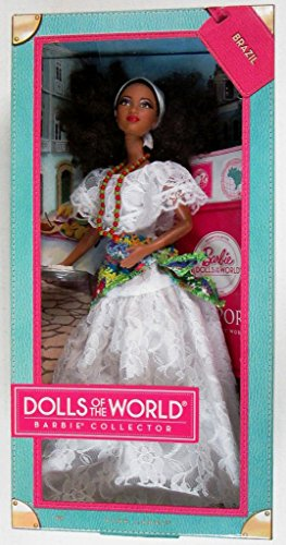 Barbie Collector 2012 Dolls of the World Pink Label - Brazil by Mattel (English Manual)