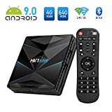 Sidiwen Android 9.0 TV Box HK1 SUPER 4GB RAM 64GB ROM RK3318 Quad-Core Dual WIFI 2.4G/5G BT 4.0...