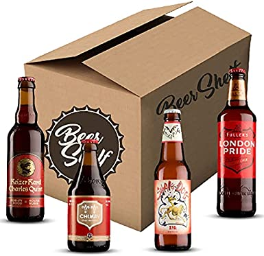 Pack Cervezas Tostadas (24 cervezas) – Experiencia de cerveza tostada – Cerveza Internacional – Cerveza con sabor – Degustación de cervezas