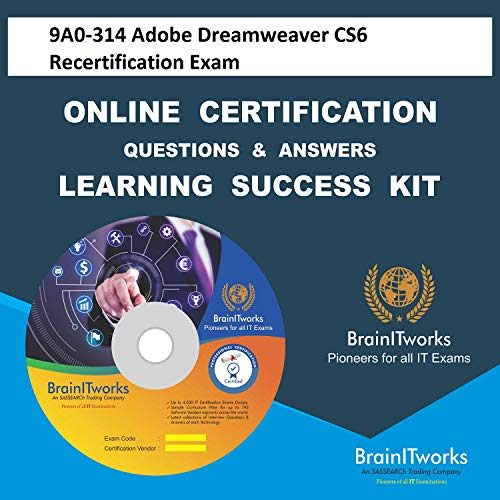 9A0-314 Adobe Dreamweaver CS6 Recertification Exam Online Certification Video Learning Made Easy
