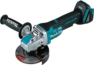 """Makita XAG26Z 18V LXT Lithium-Ion Brushless Cordless 4-1/2"""" / 5"""" Paddle Switch X-LOCK Angle Grinder, with AFT, Tool Only"""