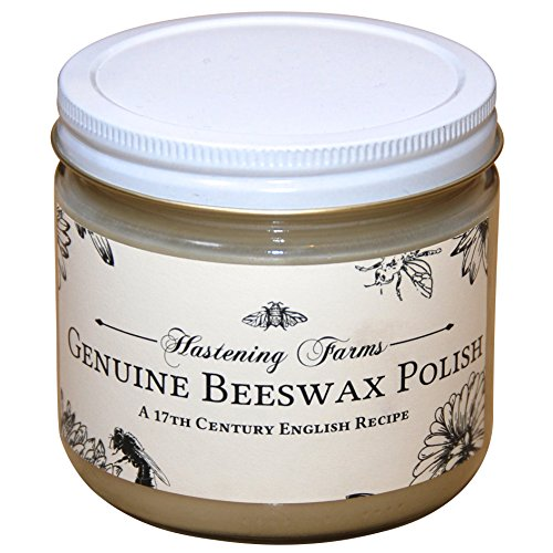 Hastening All Natural Beeswax Furniture Polish (12oz)