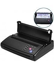 Fotocopiadora de transferencia de tatuajes - Impresora profesional de tatuajes portátil Copiadora de transferencia térmica Papel de tatuaje Impresión de tatuaje (EU)