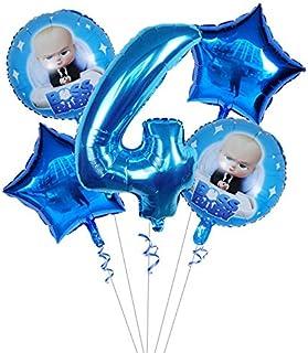 Acheter Mini Animal Foil Balloons Décorations De Fête Danniversaire Enfants Océan Balles De Poisson Gonflable Jouets Baby Shower Balles De Fête Des