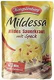 Hengstenberg Mildessa Mildes Sauerkraut mit Speck, 6er Pack (6 x 400 g)