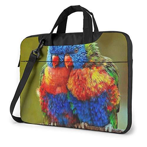 Parrot Laptop Bag Messenger Bag Briefcase Satchel Shoulder Crossbody Sling Working Bag