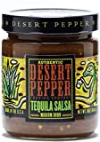 Desert Pepper Tequila Salsa, Medium Burn, 16-Ounce (6 Pack)