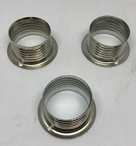 3x KHL Unterring G9 Halterung Glas auf Fassung 21mm Lampen