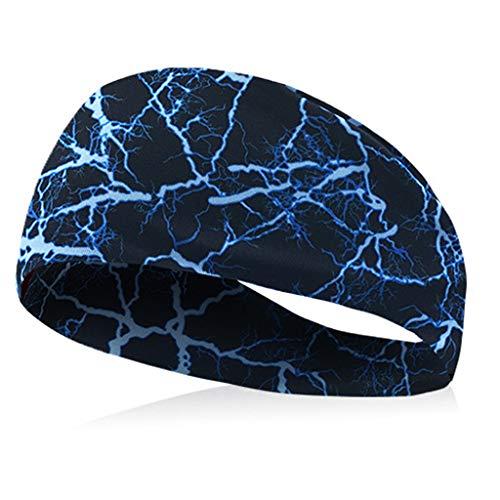 Unisex Sport Turban Haar ZubehöR Schweißband Fitness Kopfband Haarspange Atmungsaktiv Stirnband Mit Elastic Anti-rutsch Schleife Wunderschön Yoga Band