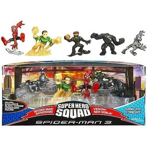 Marvel Spider-Man Super Hero Squad (Sand Pit Stand) by Hasbro