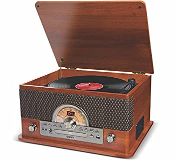 ION Audio Superior LP | 3-Speed USB Turntable with 7 Playback Options Including Cassette CD USB and Bluetooth